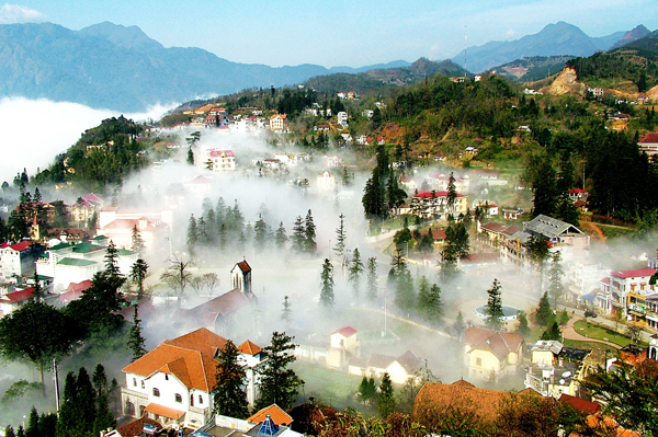 2 DAYS ONE NIGHT SAPA TOUR (including bus Hanoi-Sapa-Hanoi)